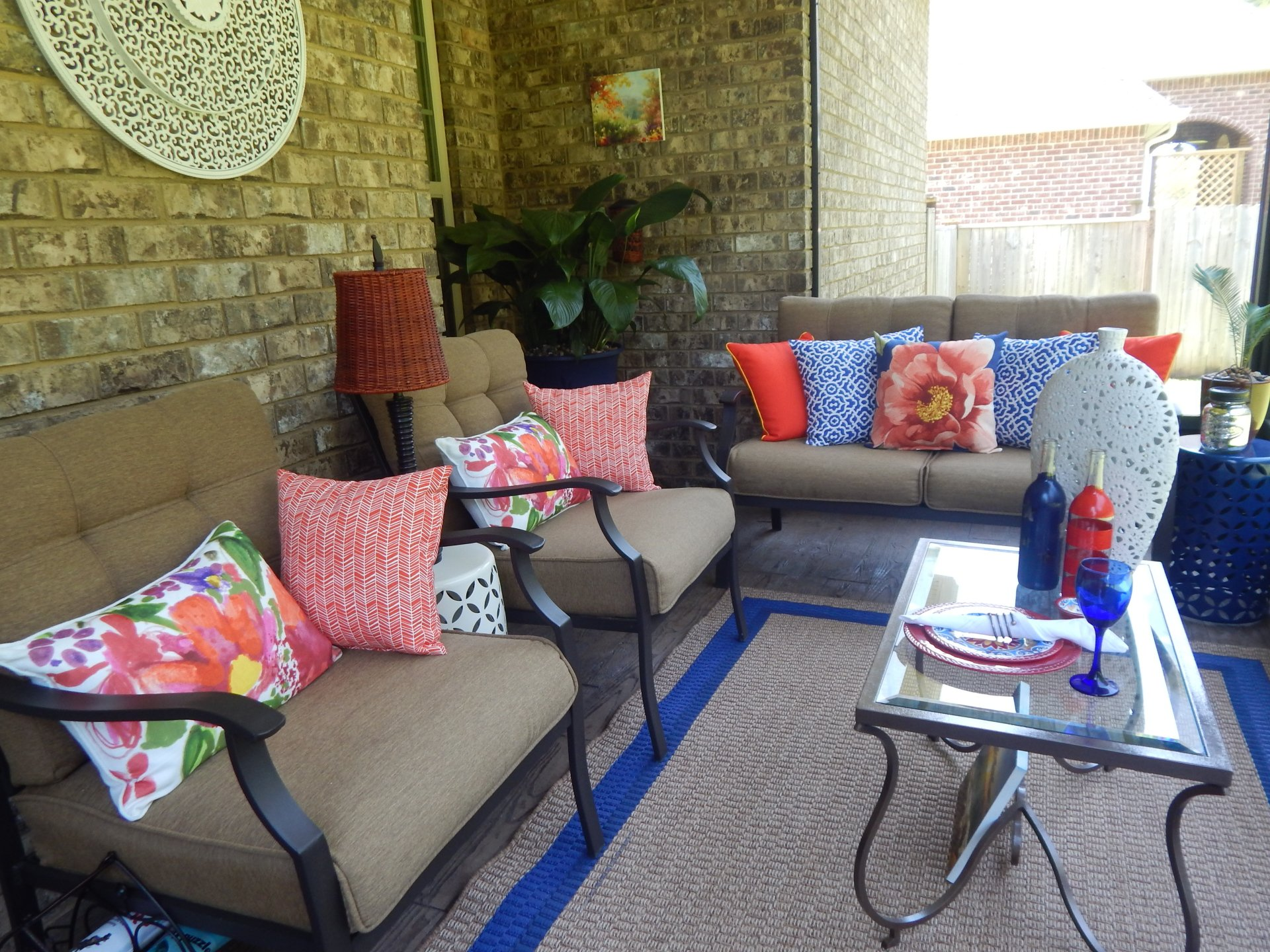 Outdoor Living Space 2016 Patio Makeover